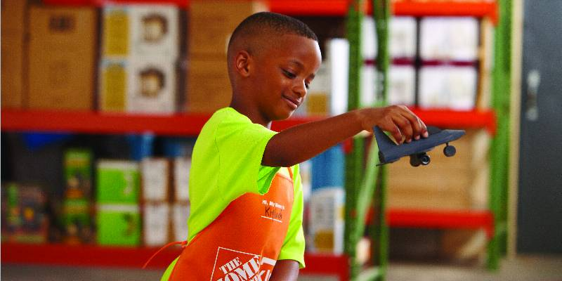 Free is my life free home depot kids workshop 11 7 for Kids crafts at home depot