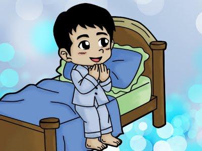 ceritahati nh baca doa sebelum tidur