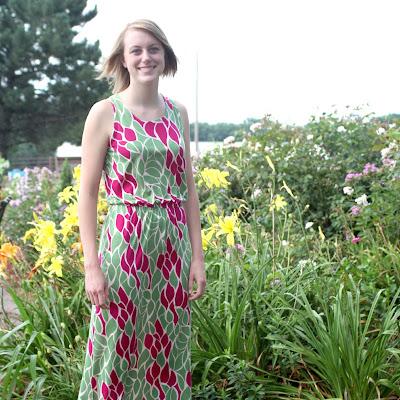 rayon jersey maxi dress