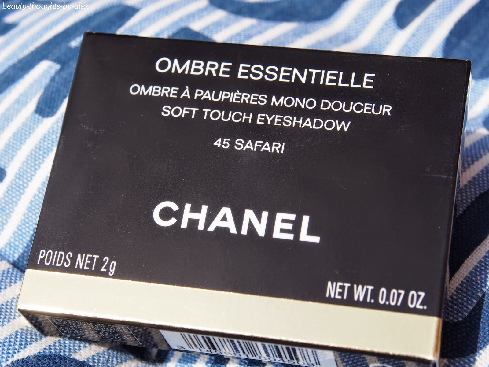 Chanel Lidschatten Safari