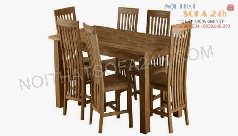 Bàn ghế ăn 024