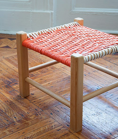 DIY Project: Twill Woven stool