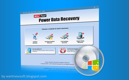 MiniTool Power Data Recovery Boot Disk image by wantnewsoft.blogspot.com