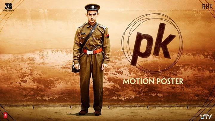 Aamir Khan's PK New Motion Poster
