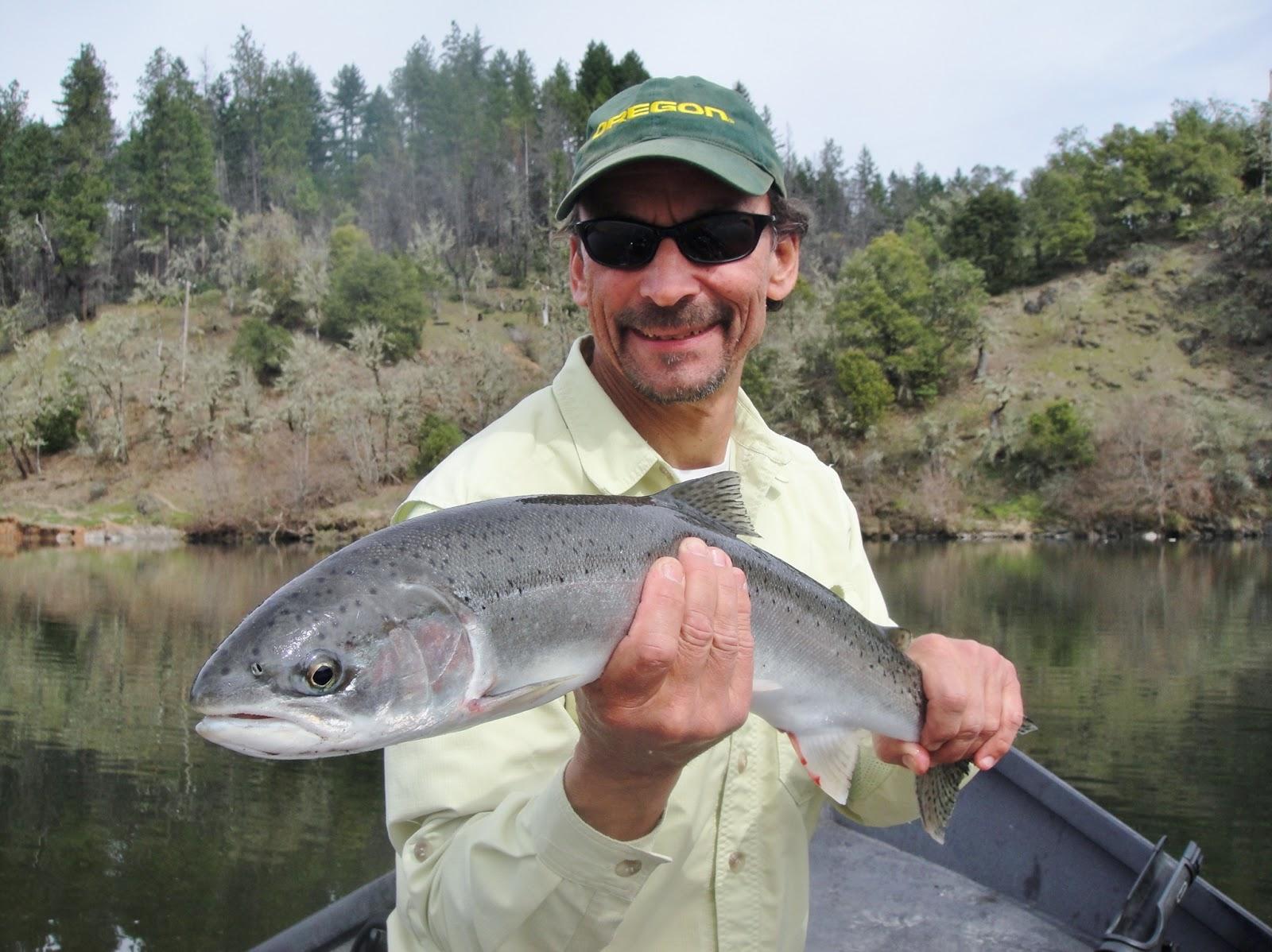 Rogue river report rogue river fishing guides guided for Rogue river fishing report