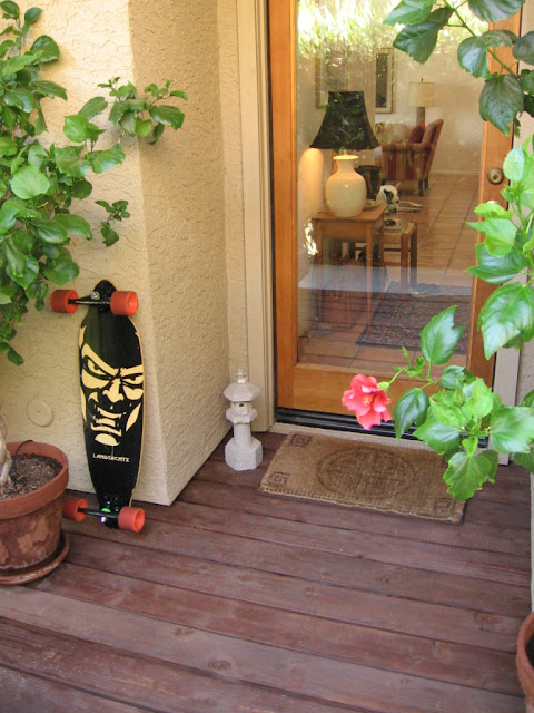 DIY Mini Wood Deck
