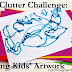 De-Clutter Challenge: What to Do with Kids' Artwork