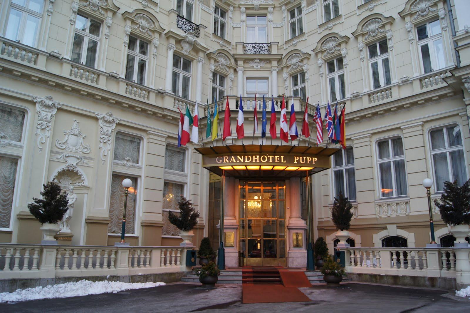 閱讀。旅行。美食 2011東歐捷克之旅 飯店篇(普普飯店;grand Hotel Pupp)