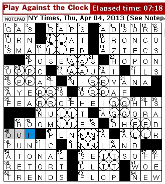 Thursday April 4 2013  sc 1 st  Rex Parker - blogger & Rex Parker Does the NYT Crossword Puzzle: Fishhook attachment ... 25forcollege.com
