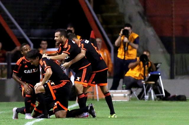 O Sport sofreu, mas conseguiu a classificação em casa diante do Bahia (Foto: Felipe Oliveira/AFP)
