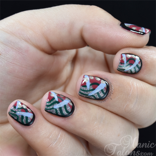Abstract Nail Art with Akzentz Luxio Fall/Winter 2015