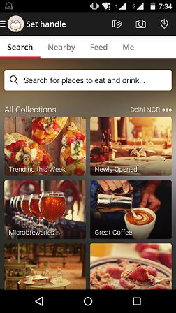 restaurant listing websites in india