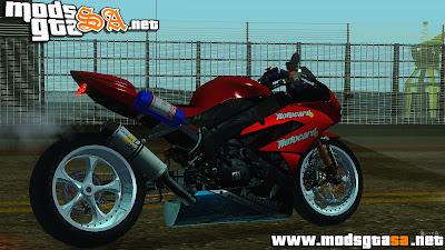 SA - Kawasaki Ninja ZX-6R