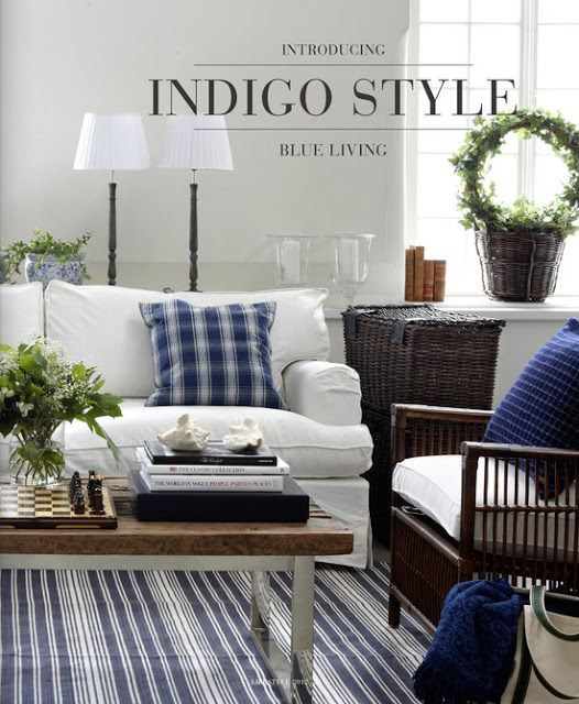 take five: the color navy in home decor - the cottage market