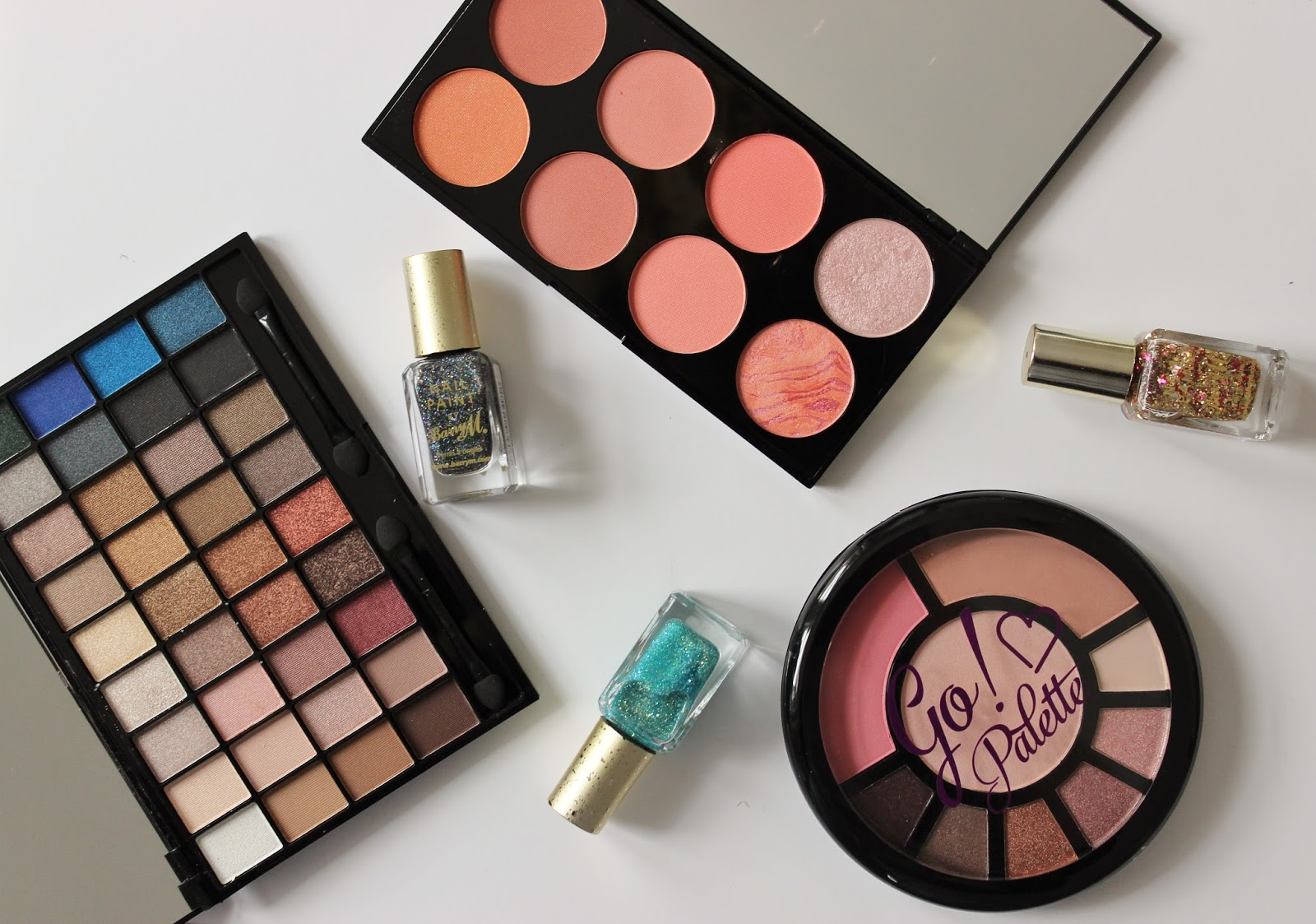 November beauty haul - Makeup revolution, Barry M, I heart makeup