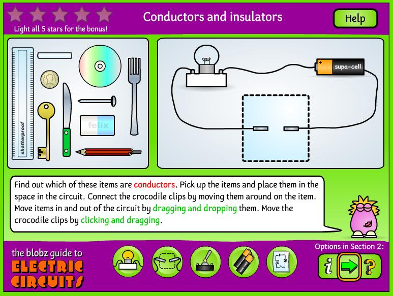 P4 - life and times as 4th graders: Electric Circuits Website