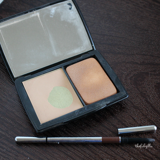guerlain lingerie de peau powder foundation review, marc jacobs beauty brow wow review