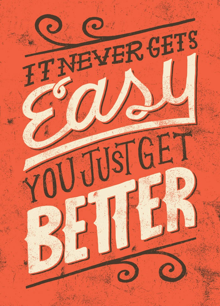 it never get easy - Jay Roeder
