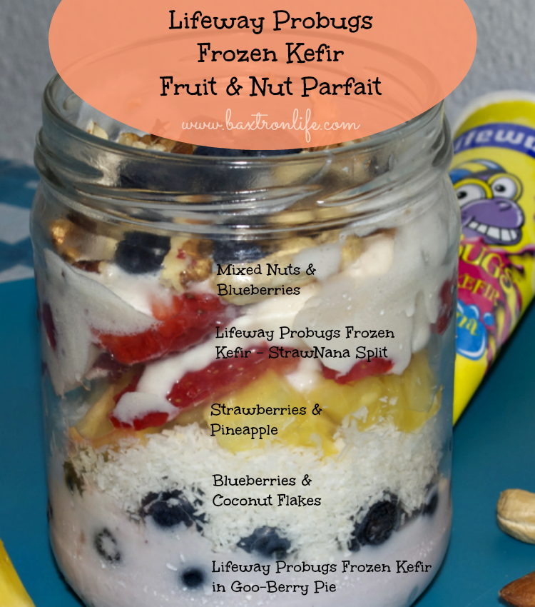 kefir parfait recipe