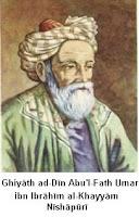 Ghiyāth ad-Dīn Abu'l-Fatḥ ʿUmar ibn Ibrāhīm al-Khayyām Nīshāpūrī
