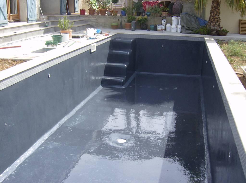 Picine spa et autres merveilles aquatiques mon avis sur for Peinture pliolite pour piscine
