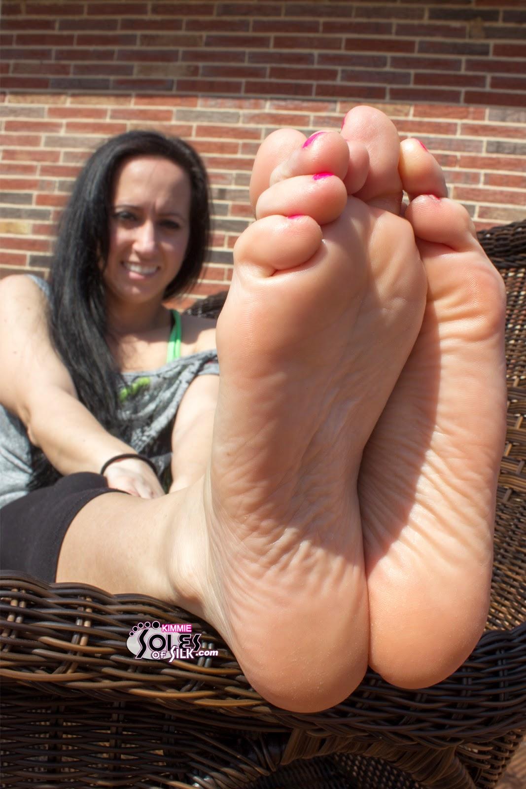 shaved stilletto heels tied