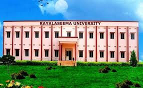 Rayalaseema University Degree Results 2016