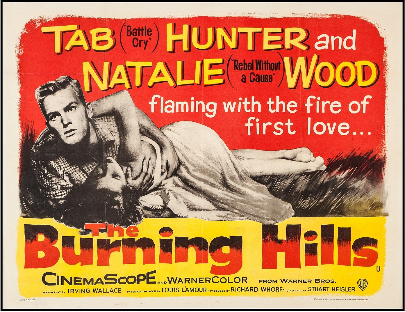 THE BURNING HILLS (1956) WEB SITE