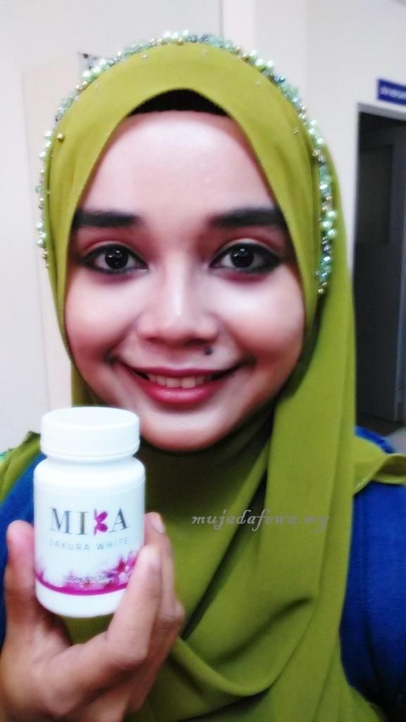 Mika Sakura White, Suplimen Terbaik Untuk Putihkan Kulit, putihkan seluruh badan