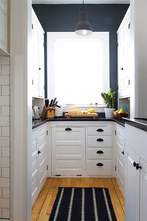 Decotips] Â¿Una cocina larga y estrecha? no es problema – Virlova Style