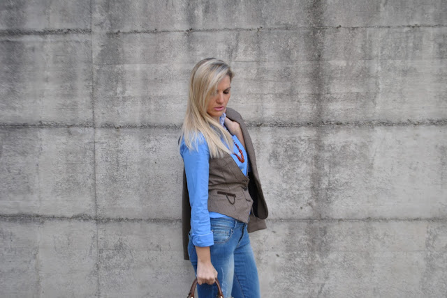 gilet principe di galles outfit gilet in principe di galles come abbinare la stampa principe di galles cosa è il principe di galles principe di galles storia mariafelicia magno fashion blogger colorblock by felym outfit novembre 2015 outfit autunnali outfit invernali how to wear prince of wales print vest how to combine wales of wales print  how to wear vest fashion bloggers italy fall outfit