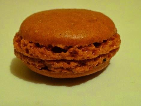 Le macaron caramel au beurre salé de Gâteau Thoumieux de Jean François Piège.