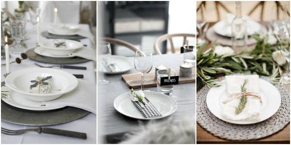 En la mesa, todos en su sitio. Ideas para señalar su lugar.