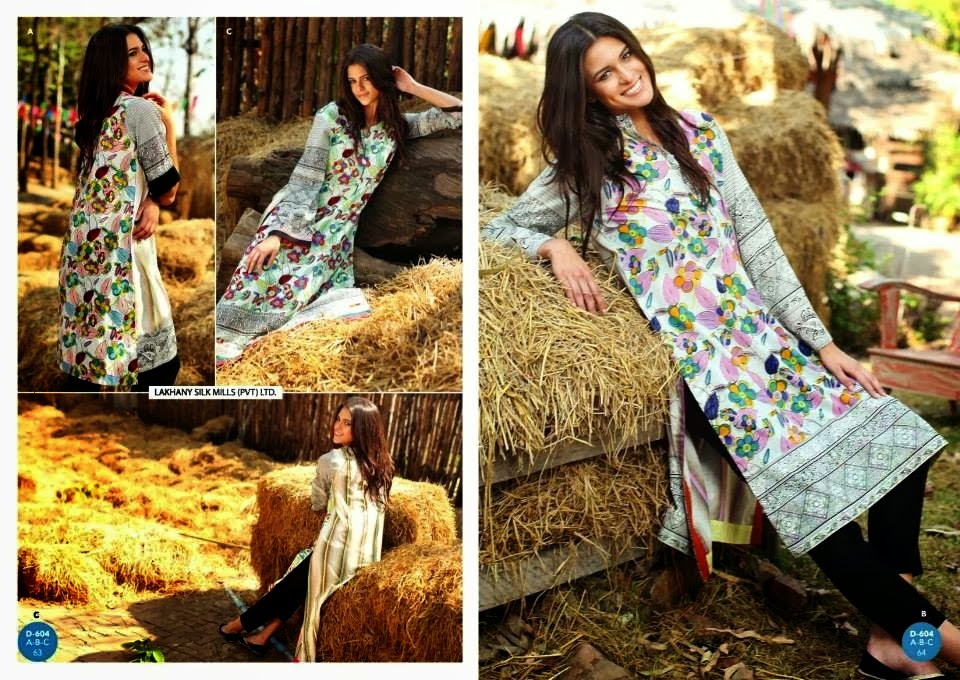 Floral Printed Normal Lawn Suits