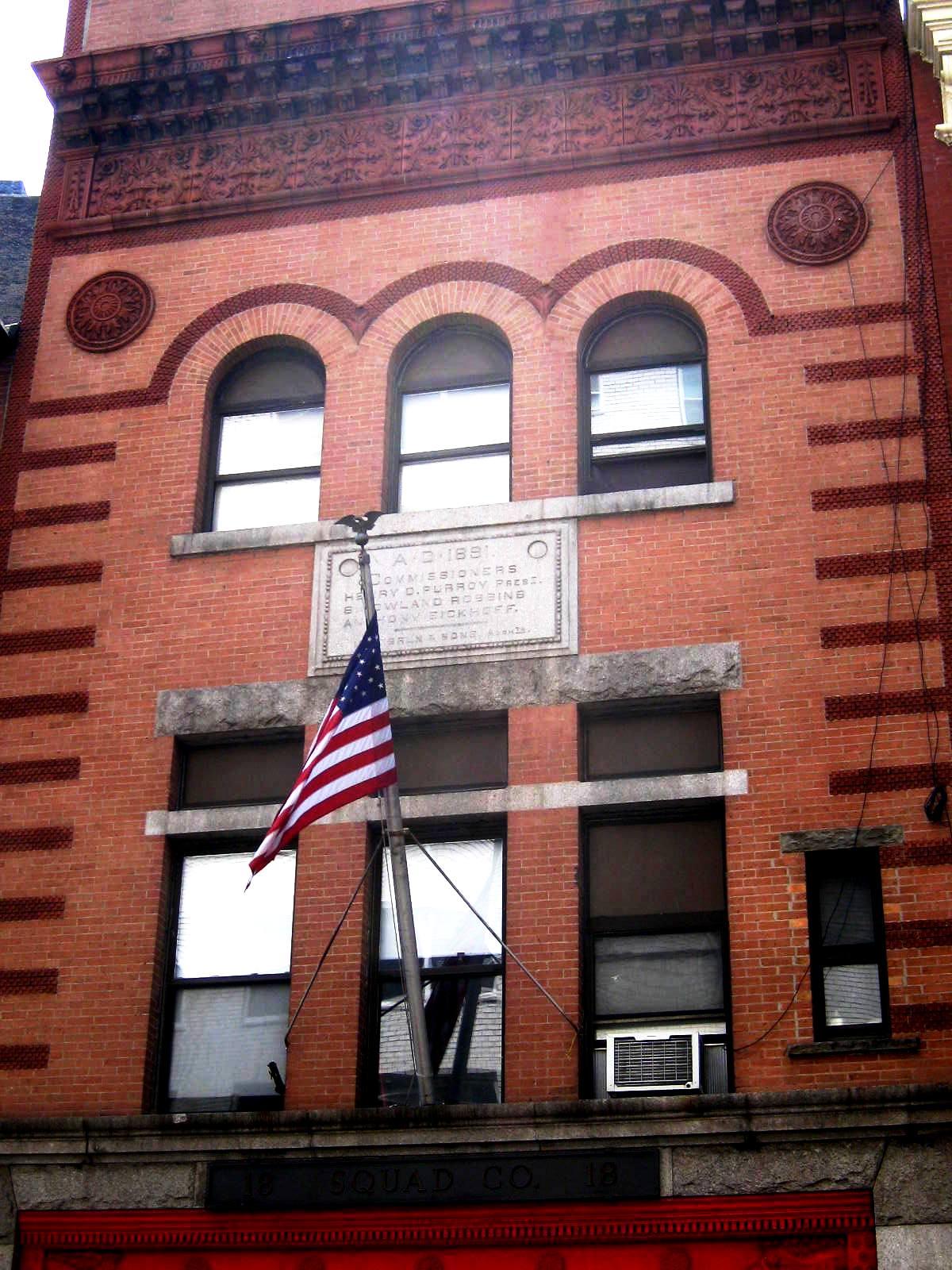 Daytonian in Manhattan: LeBrun's 1892 Engine Company 18 -- No. 132 on