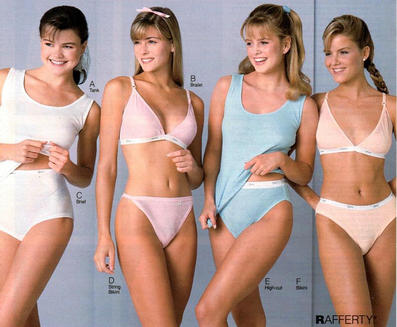 Sexy lingerie catalogue