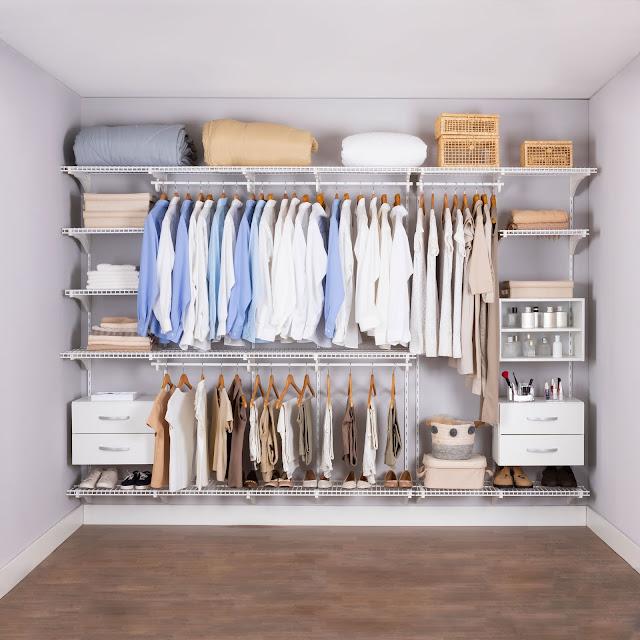 Armário aramado kit 53 - Closet ou quarto