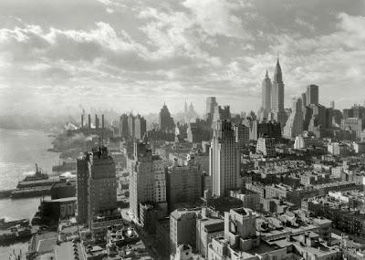 FOTOGRAFÍA SILUETA DE NUEVA YORK