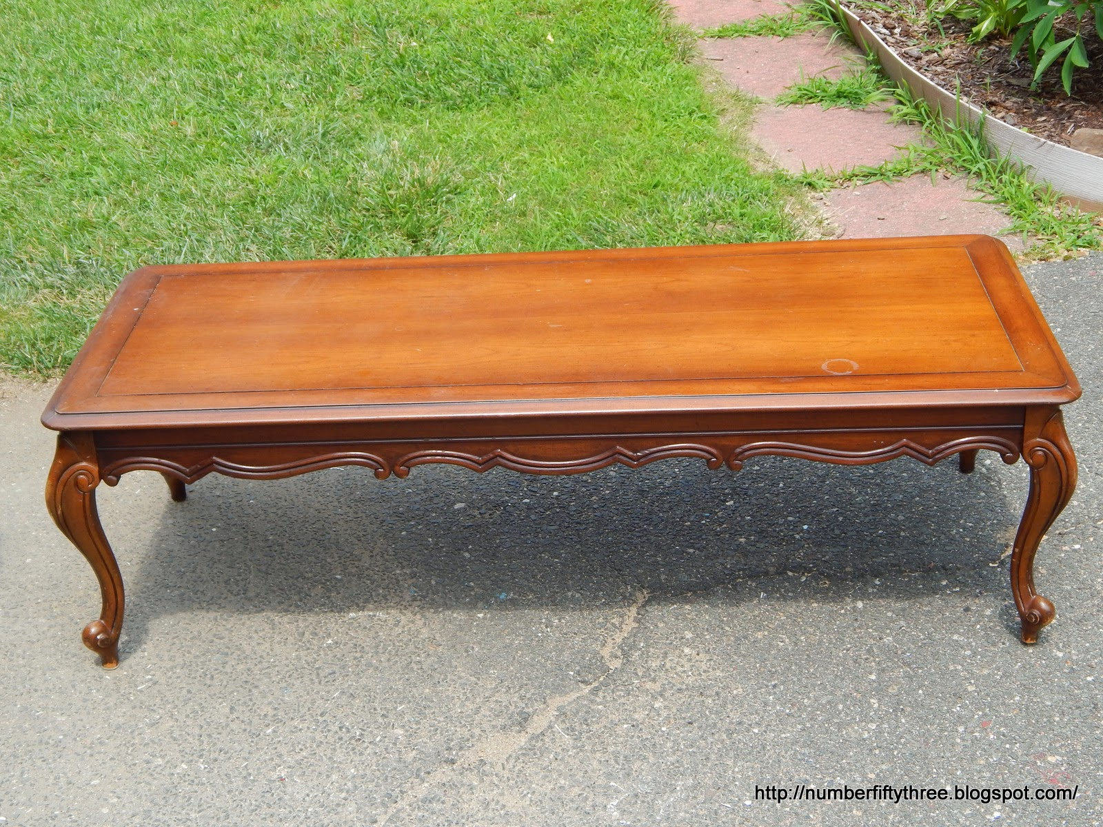 Number Fifty Three Classic Black Gold Coffee Table