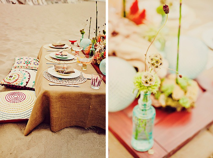 Beach Wedding Ideas Styled Shoot Celebrations At Home
