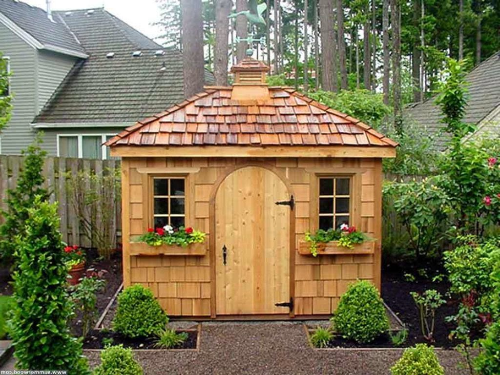 Nice Backyard Sheds : arent they?! Just so much more than a place to store your garden