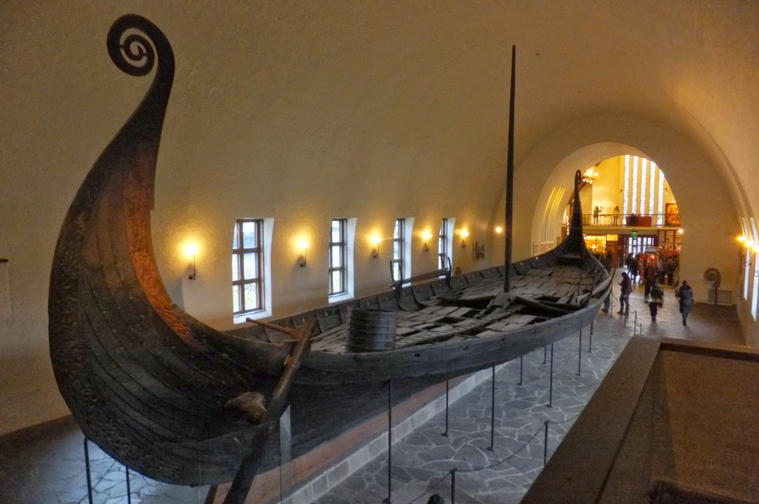 Oseberg Viking ship Oslo