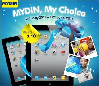 Mydin 'My Choice' Contest
