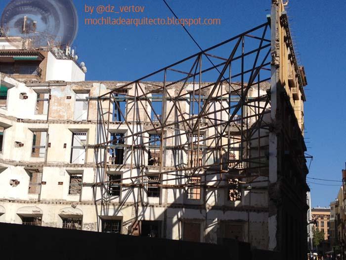 Mochila de arquitecto curiosidades en m laga centro - Arquitectos en malaga ...