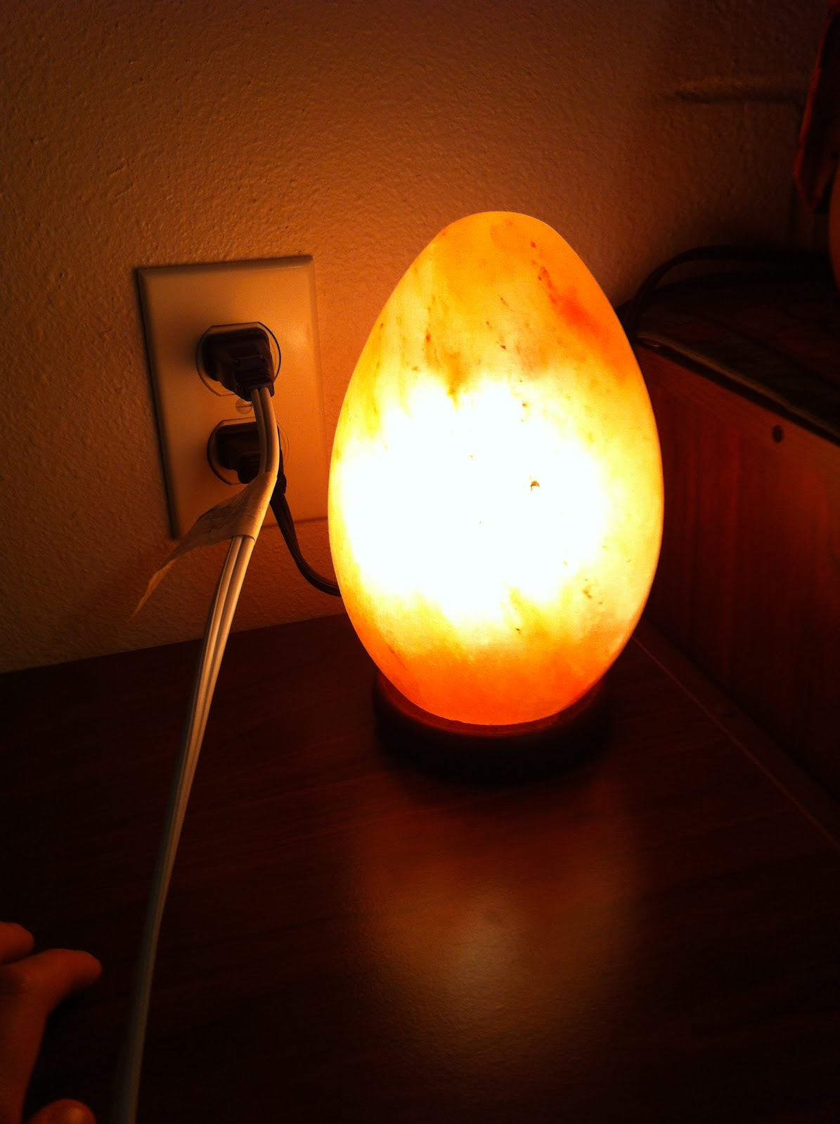Are Salt Lamps Safe For Cats : Attached At The Nip: Himalayan Salt Lamp Review