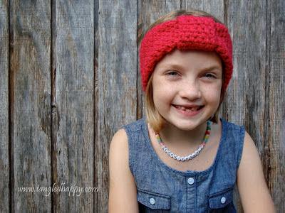 free crochet pattern easy turban headband
