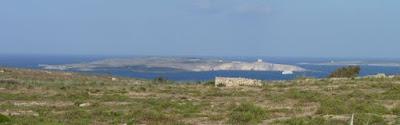 Desde Gozo se ve la cercana isla de Malta.