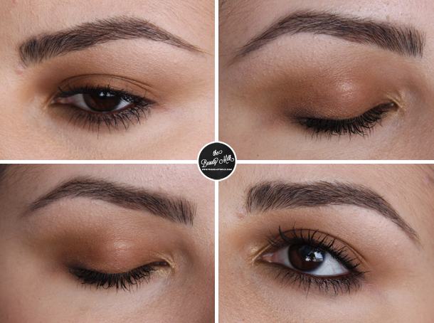 earth toned makeup look ellis faqs creamy eyes 127