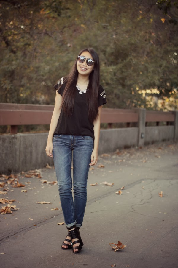 american eagle jeans outfit