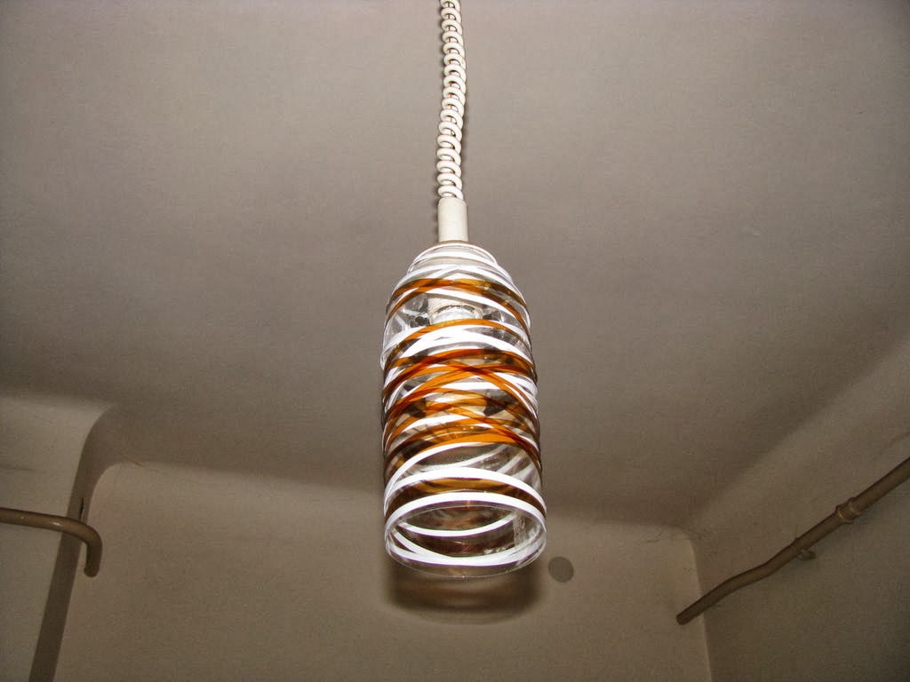 The Art Of Up-Cycling: Diy Lamp Shades - Made From Junk......Dare ... for Diy Plastic Bottle Lamp  303mzq